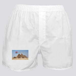 Giza Pyramids in Egypt Boxer Shorts
