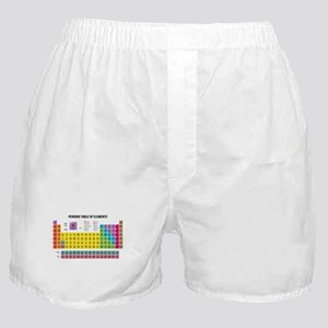 Periodic Table Of Elements Boxer Shorts