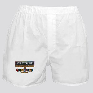 Retired Under New Management Boxer Shorts