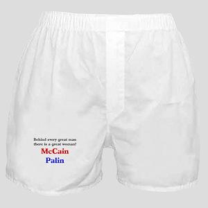 McCain Palin Boxer Shorts