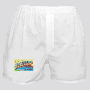 Monterey California Greetings Boxer Shorts