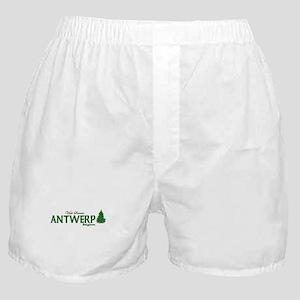 Visit Scenic Antwerp, Belgium Boxer Shorts