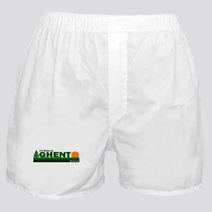 Its Better in Ghent, Belgium Boxer Shorts