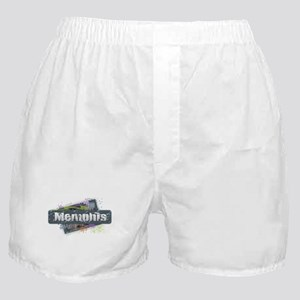 Memphis Design Boxer Shorts