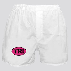 Thiathlon Swim Bike Run Boxer Shorts