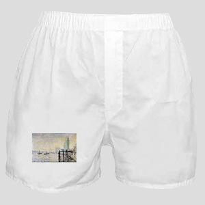 Claude Monet Westminster Bridge Boxer Shorts