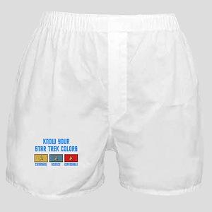 ST: Colors Boxer Shorts