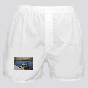 Florida swamp airboat 2 Boxer Shorts