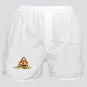 Day of the Dead Snoopy Pumpkin Boxer Shorts