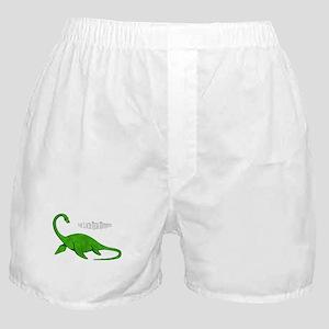 Loch Ness Monster Boxer Shorts