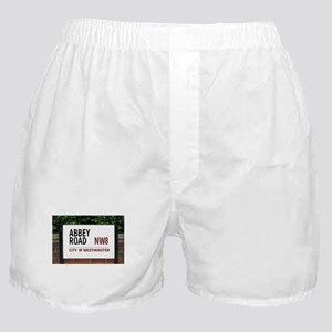 Abbey Road street sign Boxer Shorts