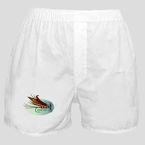 Fish On Boxer Shorts