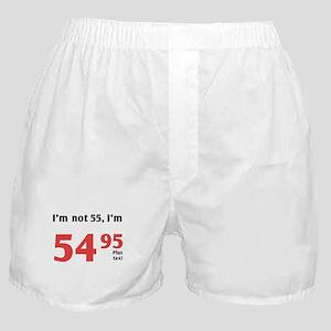 Funny Tax 55th Birthday Boxer Shorts