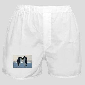 Emperor Penguin Courtship Boxer Shorts