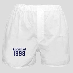 Established 1998 Boxer Shorts