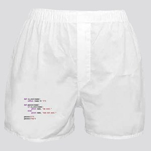 I am cool You are not cool Boxer Shorts