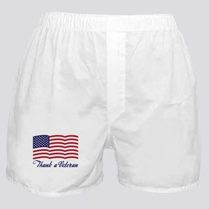 Thank A Veteran Boxer Shorts