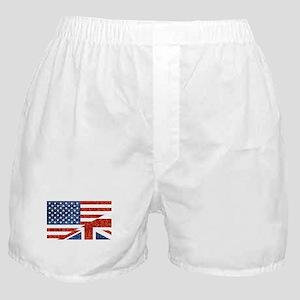 glitter usa uk Boxer Shorts