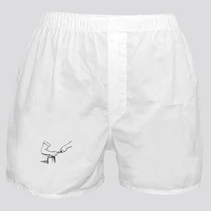 Champering against the grain Boxer Shorts