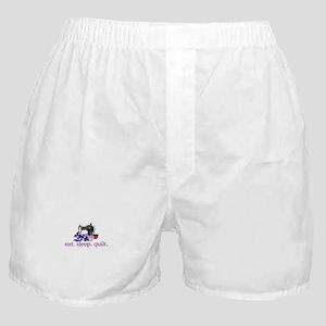 Quilt (Machine) Boxer Shorts