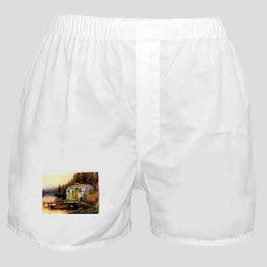 Airstream camping Boxer Shorts