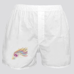 Colorful Music Boxer Shorts