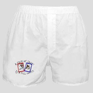 "Jack Russell Terrier ""PAIR OF JACKS"" Boxer Shorts"