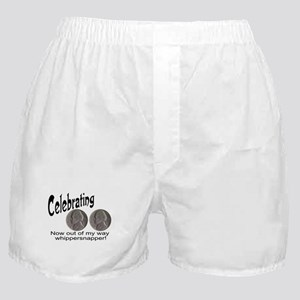 55 Birthday Whippersnapper Boxer Shorts
