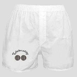 celebratingdoublenickle Boxer Shorts