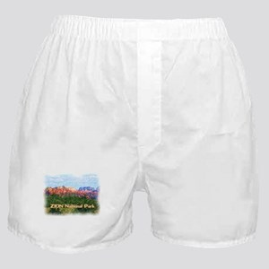 Zion National Park, Utah Boxer Shorts