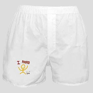I POOPED Boxer Shorts