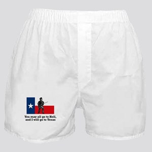 Crockett Quote Boxer Shorts