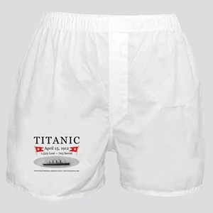 Titanic Ghost Ship (white) Boxer Shorts