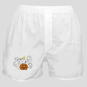 Peanuts Snoopy Sketch Pumpkin Boxer Shorts