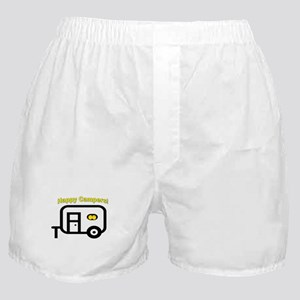 Happy Campers! Boxer Shorts