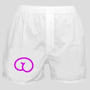 Pinky Bum Bum Boxer Shorts