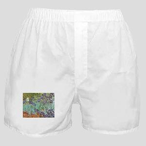 Van Gogh Irises, Vintage Post Impress Boxer Shorts