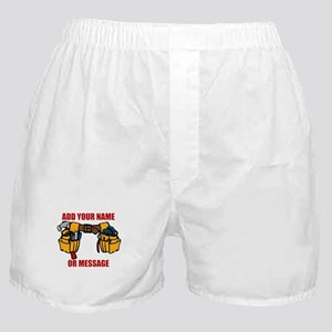 PERSONALIZED Tool Belt Graphic Boxer Shorts