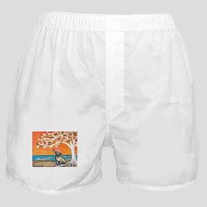 Pug ~the beauty of orange Boxer Shorts