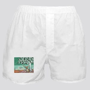 chihuahua spiritual love tree Boxer Shorts