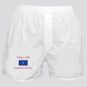Daddy's little Guamanian Princess Boxer Shorts