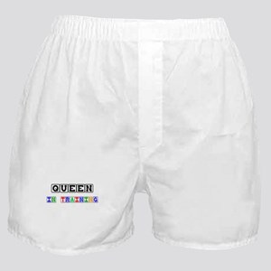 Queen In Training Boxer Shorts