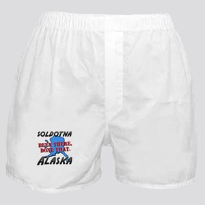 soldotna alaska - been there, done that Boxer Shor