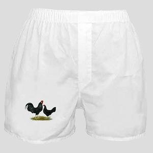 Marsh Daisy Fowl Boxer Shorts