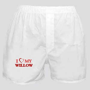 I love my Willow Boxer Shorts