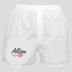 Allison Artistic Name Design with Flo Boxer Shorts
