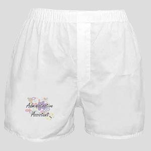Administrative Assistant Artistic Job Boxer Shorts