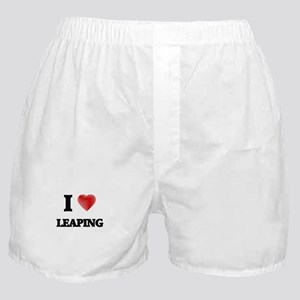 I Love Leaping Boxer Shorts