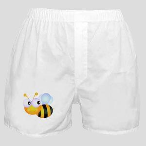 Cute Cartoon Bumble Bee Boxer Shorts