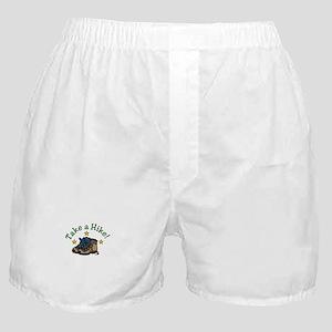 Take a Hike! Boxer Shorts